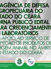 EDITAL 01/2019 CREDENCIAMENTO DE LABORATÓRIOS