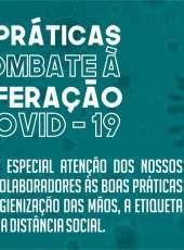 Adagri – Ce faz um chamamento aos seus  colaboradores às práticas de combate ao Covid-19