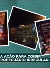 ADAGRI realiza ação para coibir o trânsito agropecuário irregular