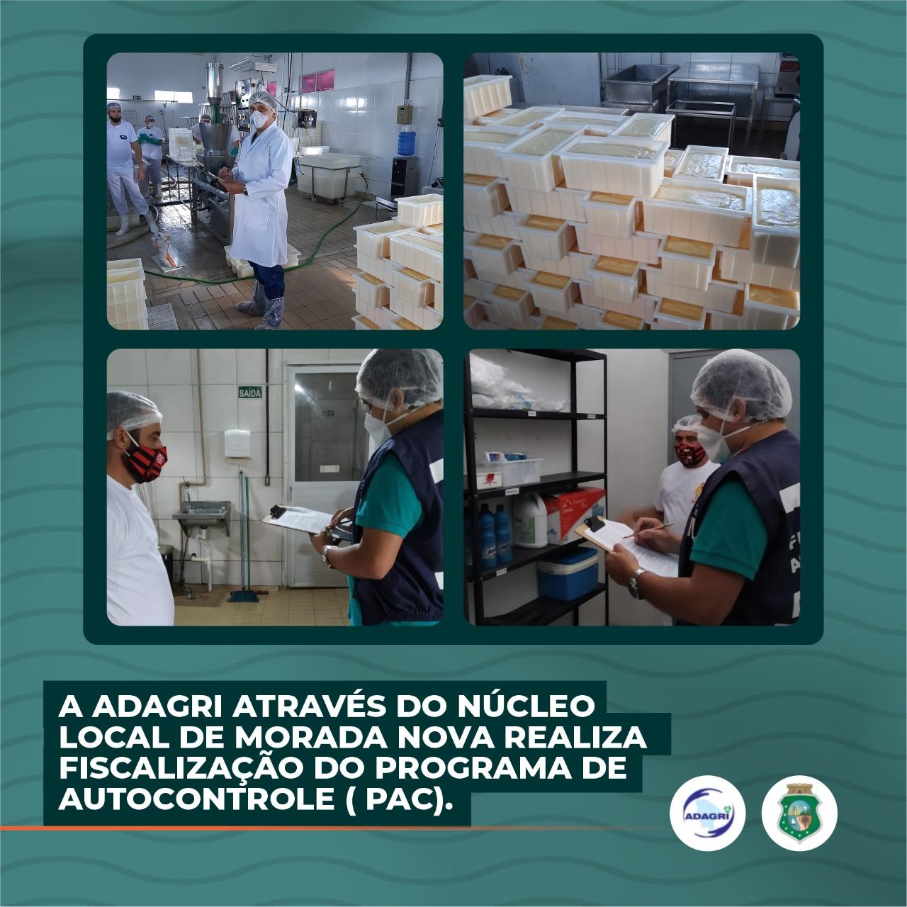 A ADAGRI através do Núcleo Local de Morada Nova realiza fiscalização do Programa de Autocontrole ( PAC)