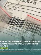 ADAGRI alerta sobre o recebimento de embalagens de sementes não encomendadas pelos Correios (Sementes clandestinas)