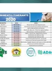 Adagri inicia o Recebimentos Itinerantes de Embalagens Vazias de Agrotóxico no Ceará (RIs)