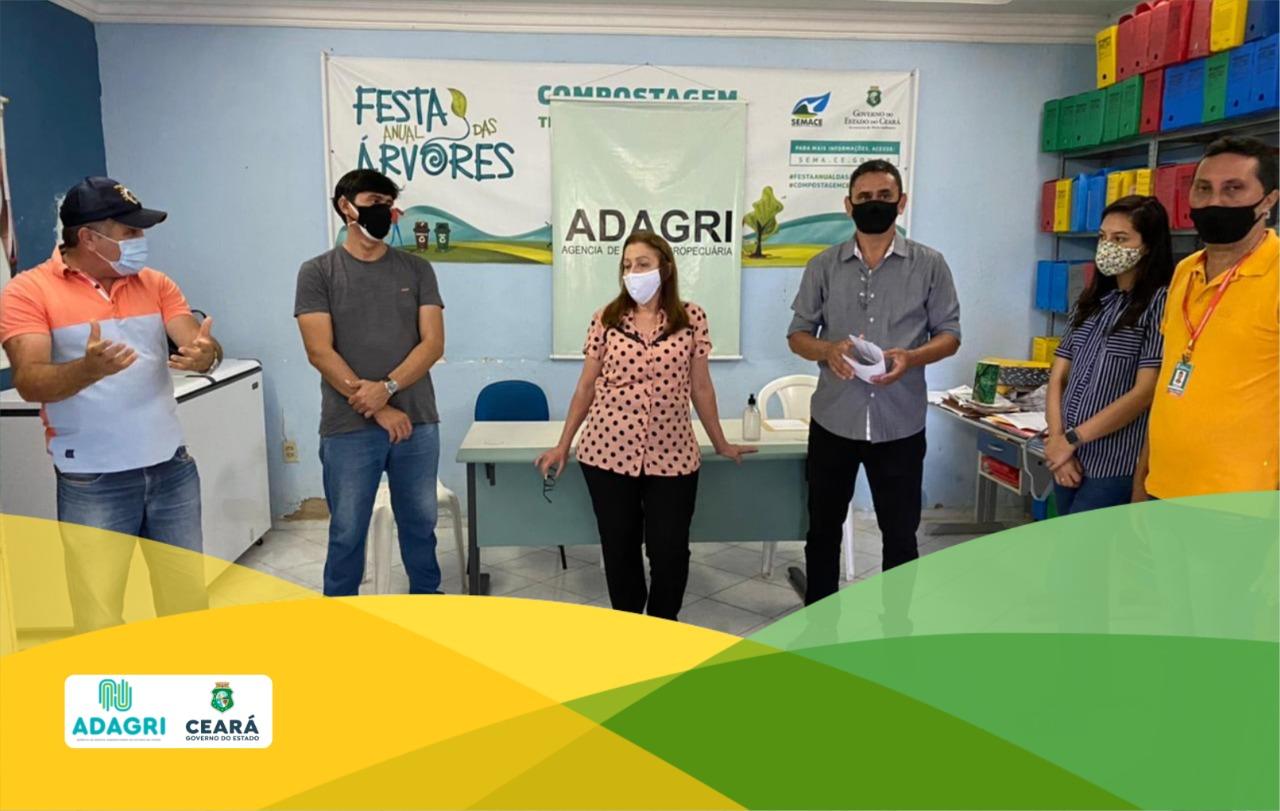Unidade da Adagri em Itapajé realiza o lançamento da primeira etapa de Vacinação contra Febre Aftosa