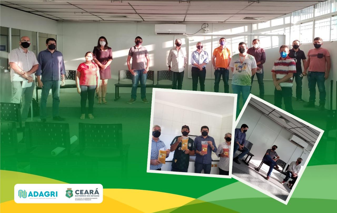 Adagri participa de missão que visitou arranjos produtivos voltados para o agronegócio em Crateús
